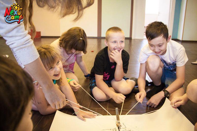 Фотография дети в летнем лагере