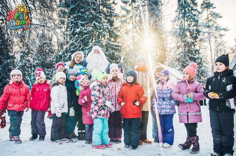 Зимняя смена в лагере Next Camp