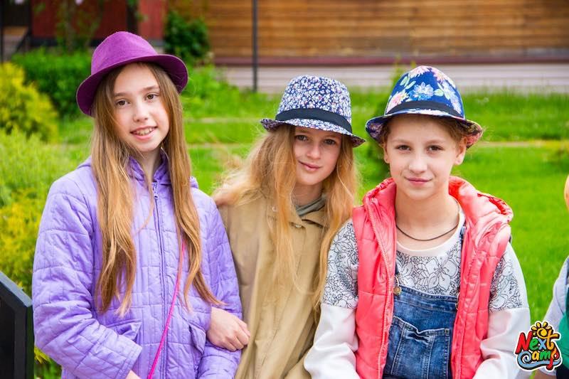 Фото детей в летнем лагере