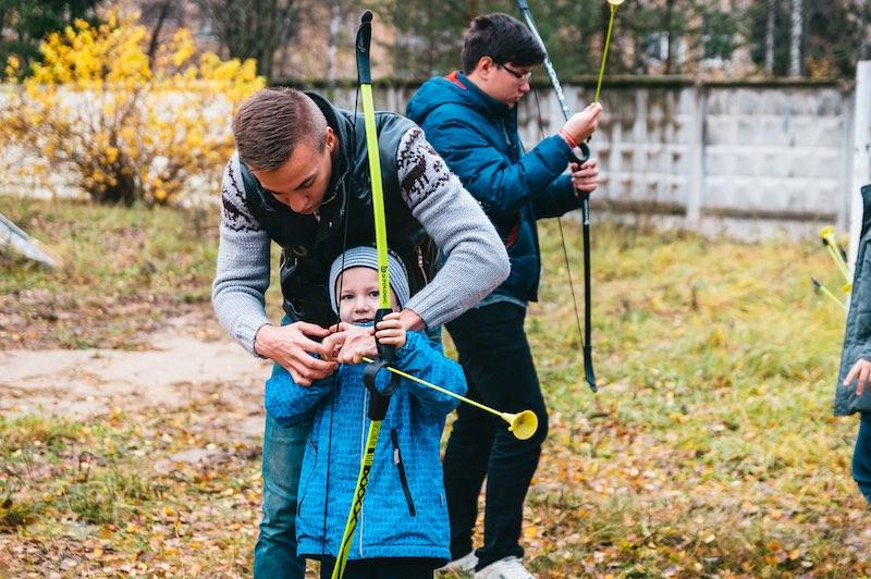 Фото в загородном лагере
