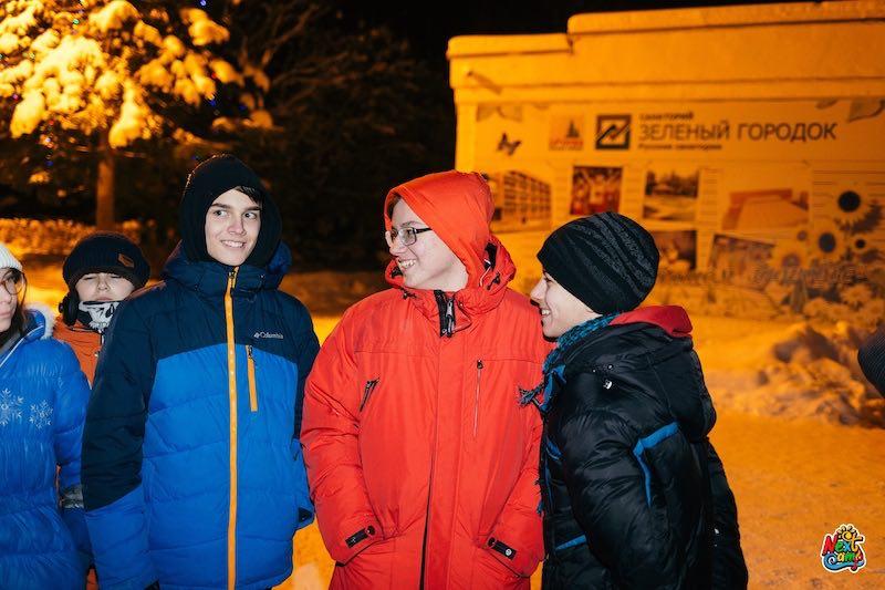 Зимний лагерь Новый год